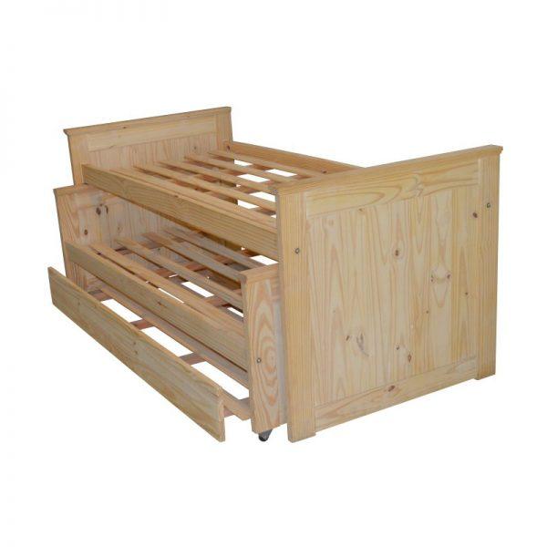 Pinarcis venta de muebles de pino for Cama nido de 1 plaza