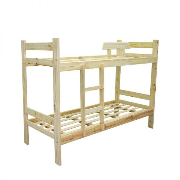 cama superpuesta recta